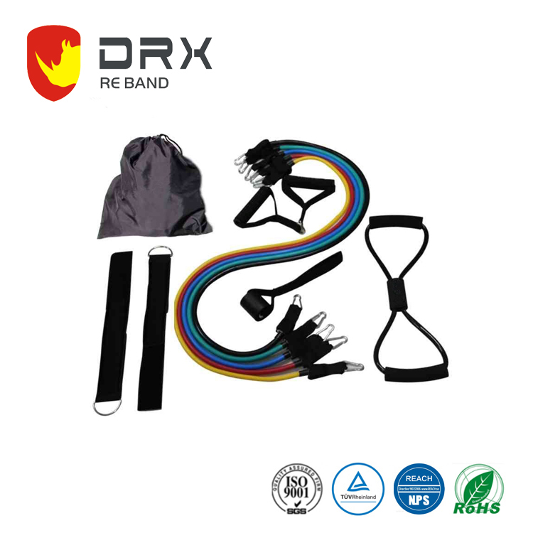 Resistance Band Set Resistance Band Kit Wholesale Sweat Absorbent Foam Handle