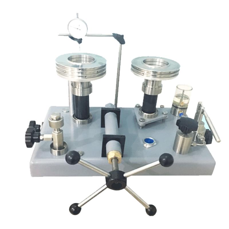 Dual Piston pressure balance deadweight tester