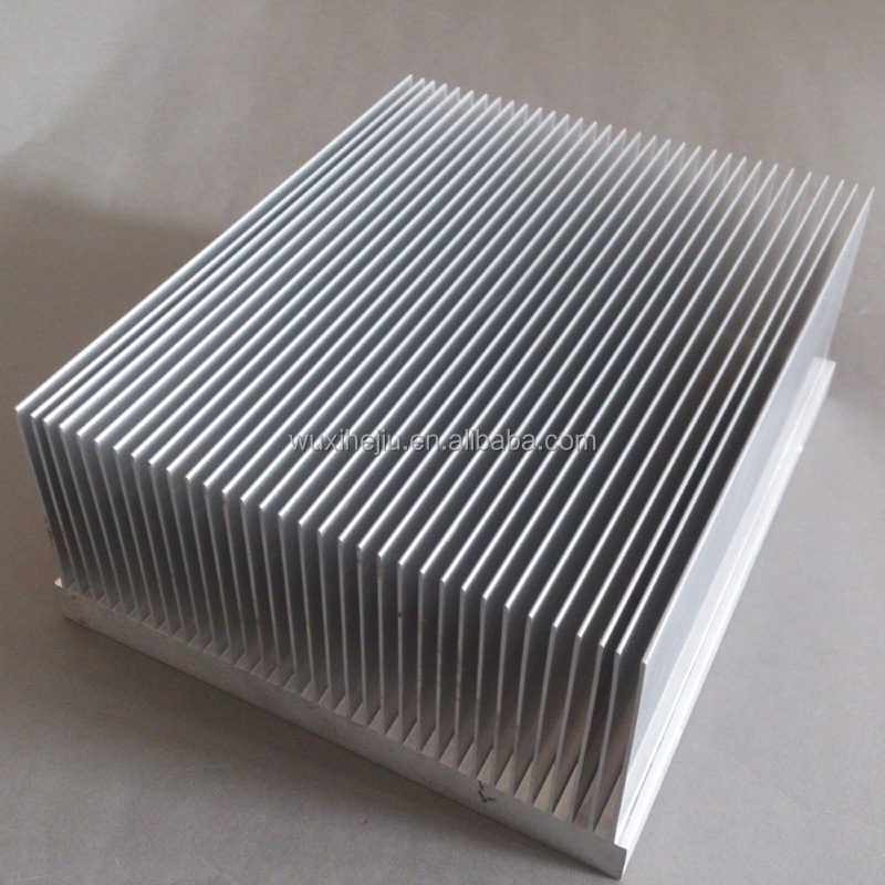 Heat Sink 168(w)*80(h)*200(l)mm With High And Dense Fins;aluminum ...