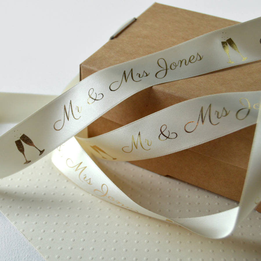 custom personalized screen printed ribbons with logo