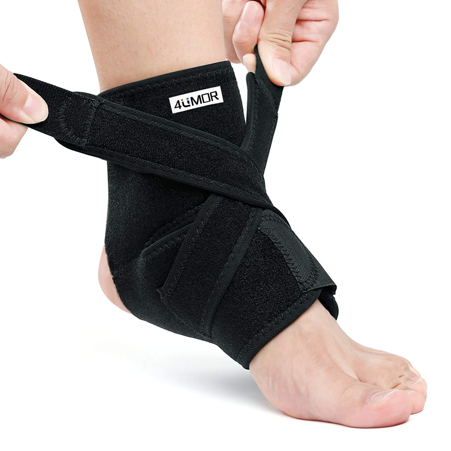279decbab4 4UMOR Ankle Braces, Ankle Support Brace Ankle Support Sleeve for Walking,  Running, Sprains