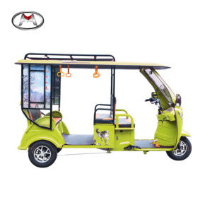 China good sale modern design three wheeler 4 passenger 3 wheel electric tricycle for elder
