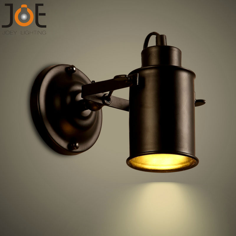 Wall Lamp Vintage Bedside Light Retro Stair Lamp Wall
