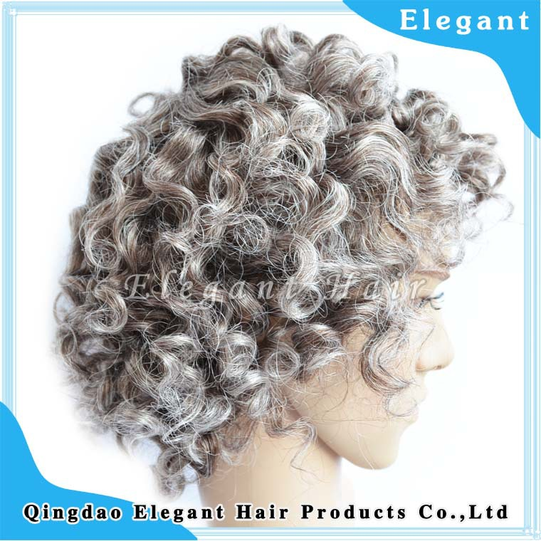 Natural Looking Curly Hair Thin Skin Indian Remy Human