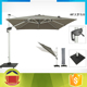 High quality sun umbrella low price promotional windproof outdoor umbrella