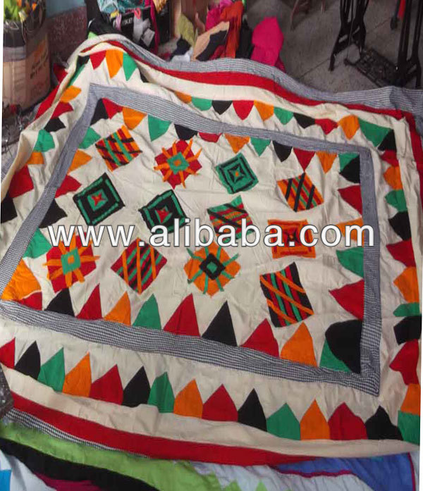 Cushion Cover,Bed Cover,Applique Ladies Hand Bag,Handicraft ...
