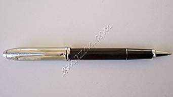 Cross Townsend Chrome / Black Lacquer Rolling Ball Pen