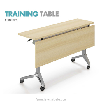 Conference Room Table Folding Training Table Course Meeting Table - Fold away conference table