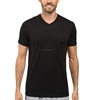 Dri fit fabric sportswear for men short sleeve compression shirts in black sport wear