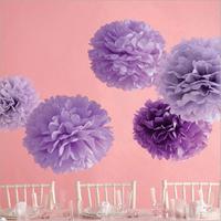 tissue paper craft pom pom wedding paper flower
