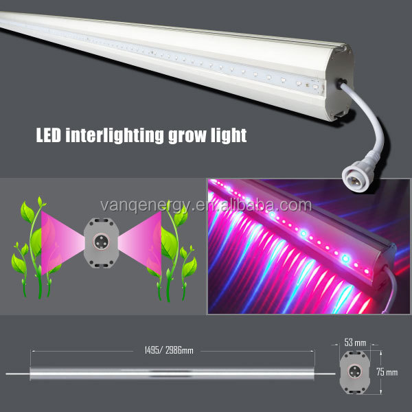 China blue led light bars wholesale alibaba waterproof led grow light bar 150w double side emitting color red blue light for indoor aloadofball Image collections