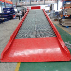 CE container load ramp truck unloading equipment mobile yard ramp