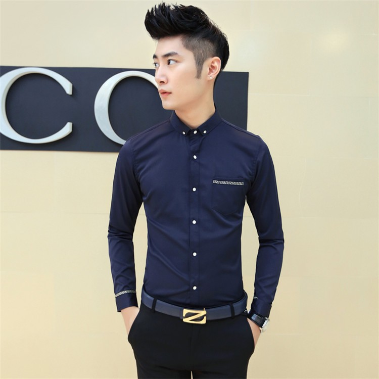 What color dress shirt with jeans