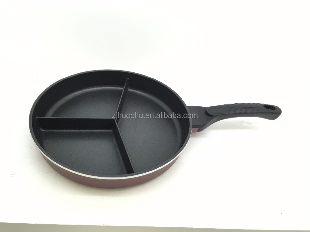 Die Cast Aluminum Non Stick Parini Cookware Five Section