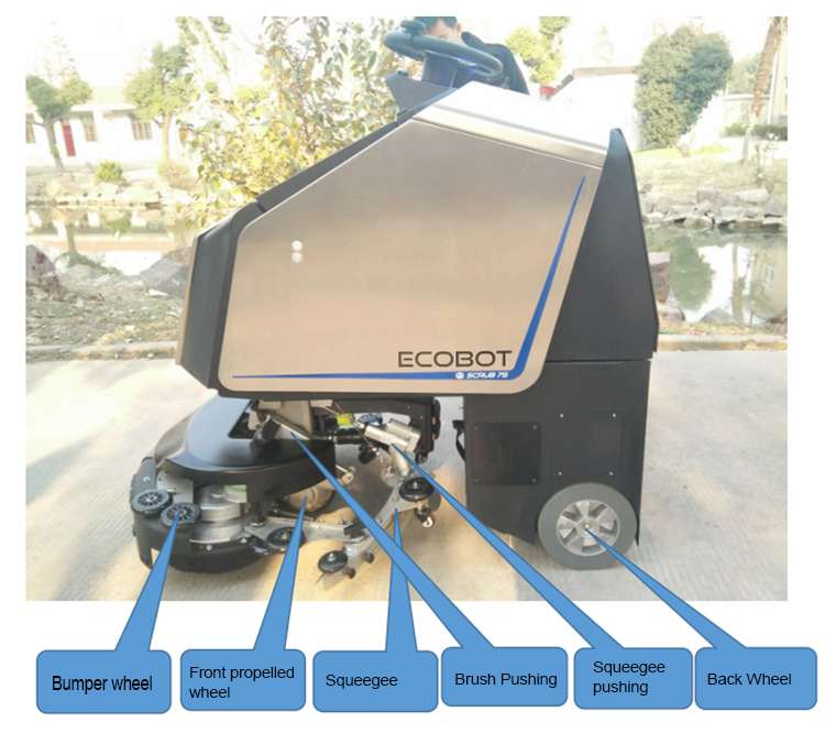 Unman Cleaning Machine Floor Scrubber High Quality Product