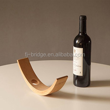 Handmade Bamboo Wine Bottle Holder Decoration For Home Bar Decor Or