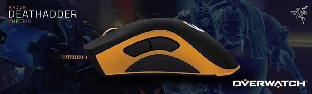 f368a466994 2017 Razer Deathadder Chroma Overwatch Gaming Mouse 10000dpi Sensor ...