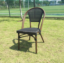 Top Selling French Bistro Chair Full Mesh Chair Used Outdoor Furniture