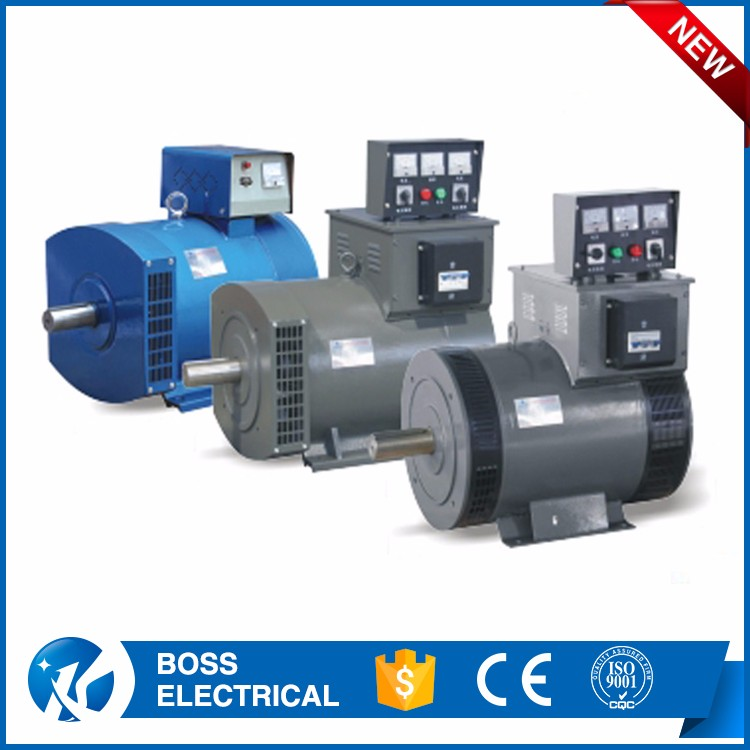 Power Three Phase Star Connection Diesel Synchronous Generator 5 Kw