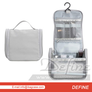 Custom High Quality Portable Hanging Travel toiletry bags