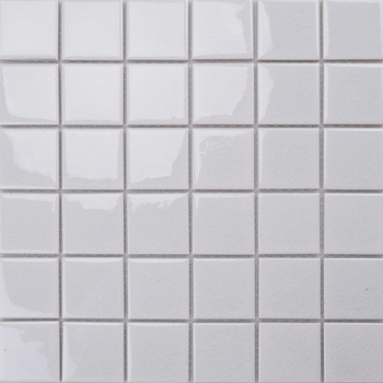 Md038t 10x10 White Tile 1 Inch Ceramic Mosaic