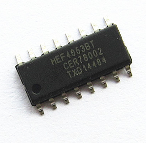 ORIGINAL LOGIC IC HEF4053BT SOP16