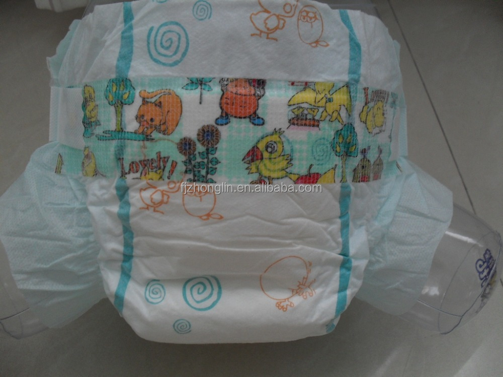 baby diaper in bale/OEM breathable baby diaper with competitve price