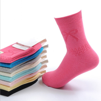 Wholesale High quality Anti-bacterial teen girl tube socks