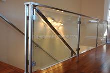alta calidad laminado de vidrio para edificios barandillas de vidrio y vidrio escalera con ce