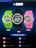 2016 Latest Selling Product Skmei Children Digital Watch ...