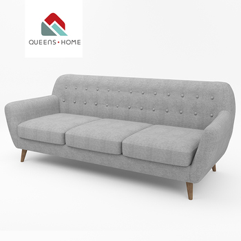 Queenshome Modern French Fabric Sofa