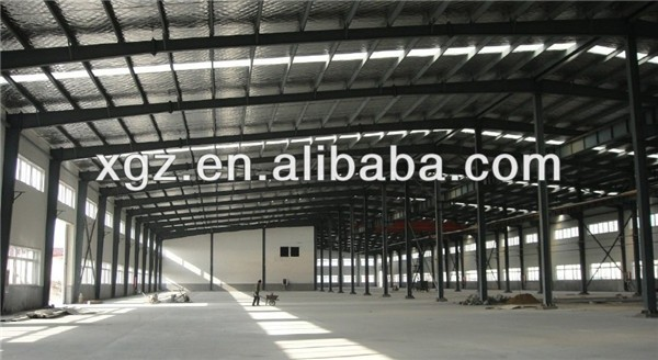 light construction industrial steel warehouse