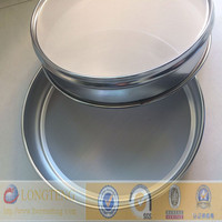 Anping factory 300mm 304 stainless steel 100 micron sieve