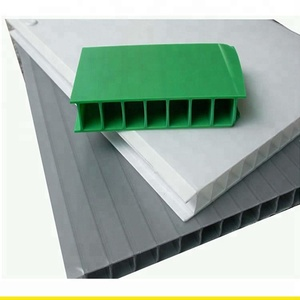 Thick Polypropylene corrugated plastic board corrugated Polypropylene plastic sheet plastic corrugated roofing sheet
