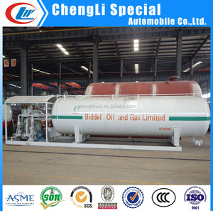 CLW lpg gas skid 20cbm price lpg skid car or gas cylinder filling lpg skid 10tons for low price