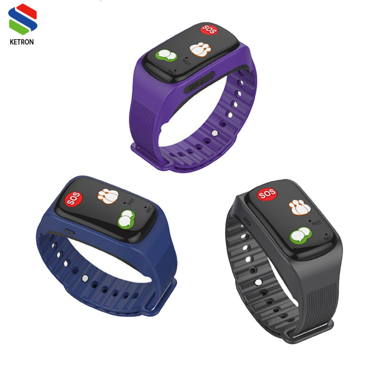 waterproof IP67 sos watch elderly smart watch with <strong>sim</strong>