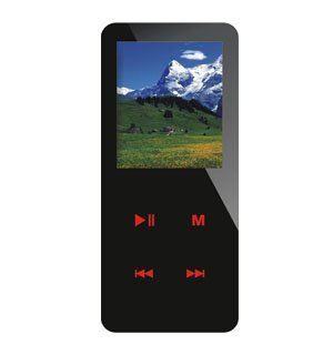 MP3 / MP4 Player, Touched-Induction Key