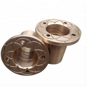 heavy machinery lead bronze large copper bushing