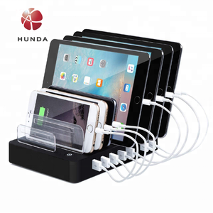 5 6 8 Port Charging Station Cell Phone Charging Hub Charger Dock Station Organizer Multi Phone Desktop Charging Station