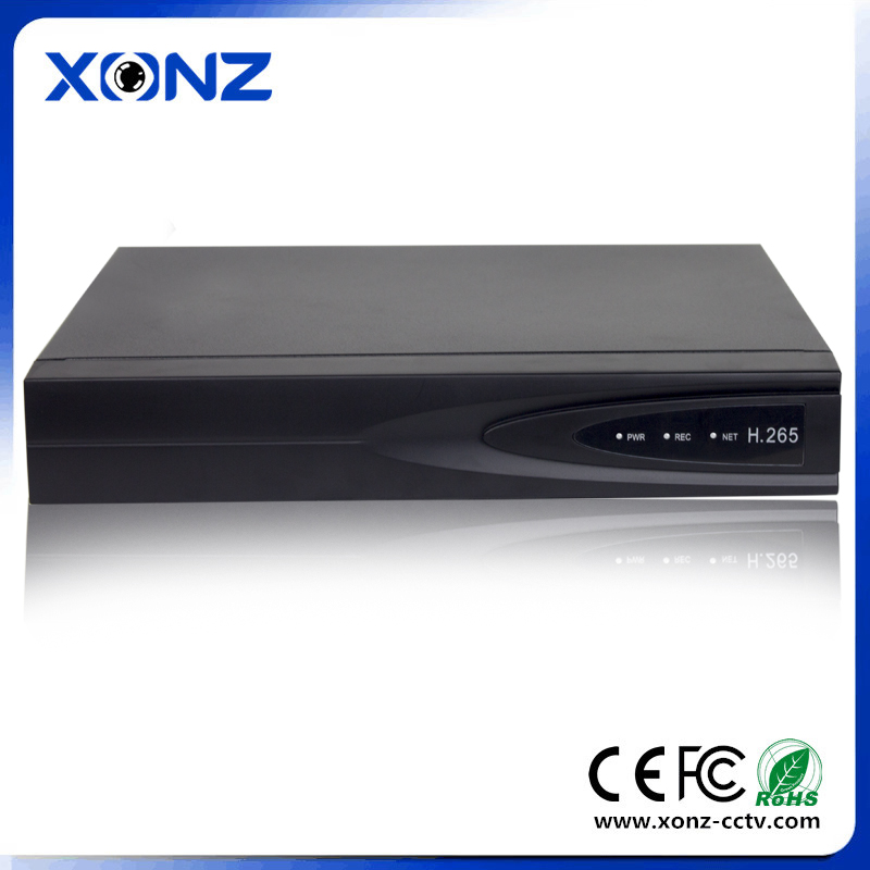 4 channel recorder H 265 4K Hisilicon solution 5MP 6TB Sata best price IP Camera NVR