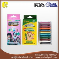 Children DIY Face and Body Crayon Sticks