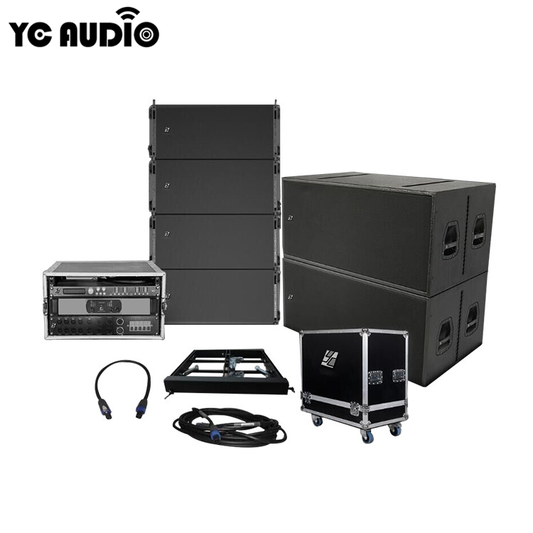 Theater sound systeem Concert outdoor geprijsd sound systeem opknoping professionele