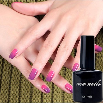 Temperature changing color gel polish heat sensitive pigment thermochromic pigment for nail polish