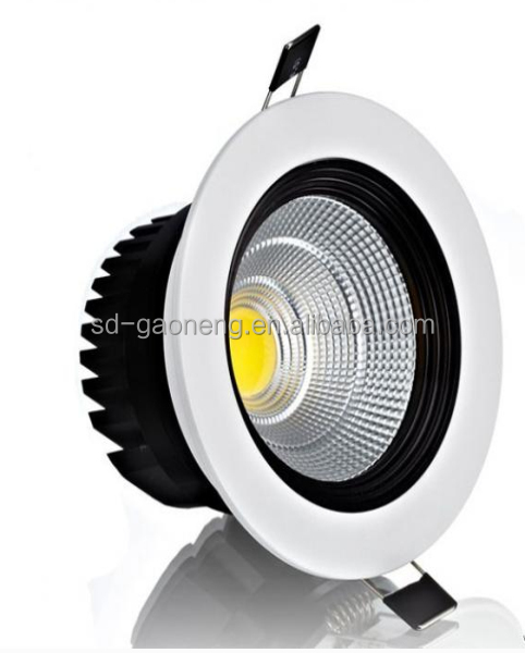 5W/7w e27 hot sale power white aluminum packing up and wall fixture high quality retro fit recessed cob slim down light led