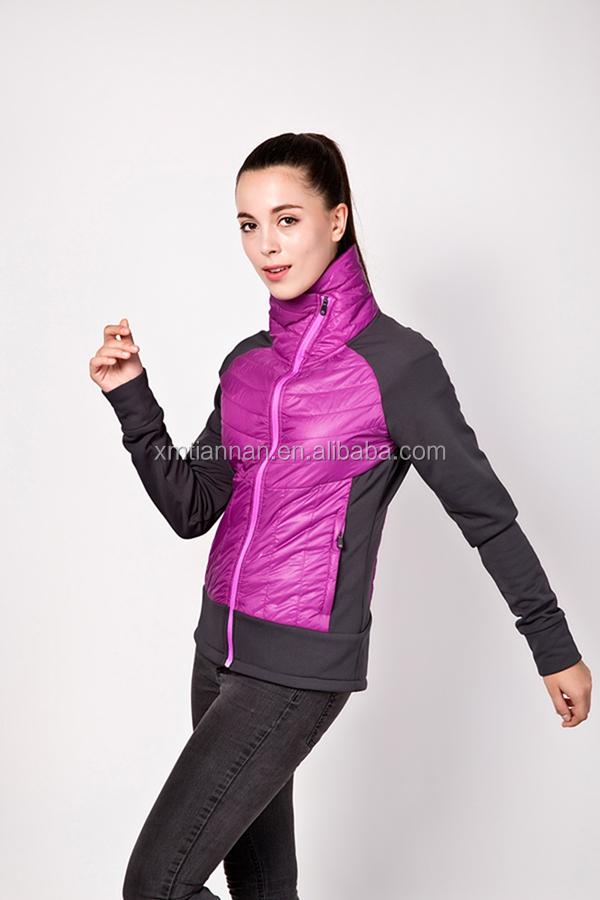 para mujer chaqueta acolchada chaqueta acolchada sin capucha