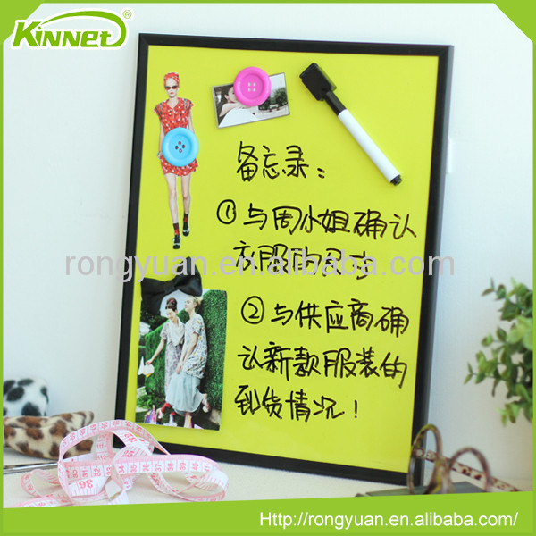 Eco-Friendly children colored magnetic printed writing board for kids