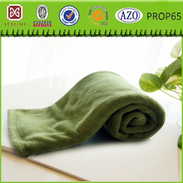 Competitive price Lint free flame retardant machine washable vellux fleece blanket for hotel