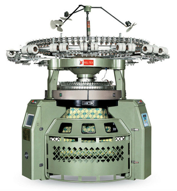 brand new double jacquard loom knitting machine