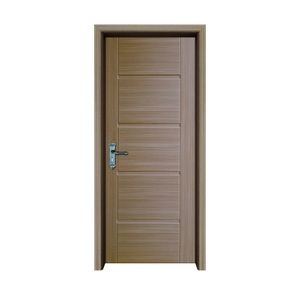 lightweight wood PVC door leaf for window and door