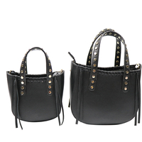 Italian leather bag factory made retro fancy design lady handbag leather / Guangzhou bag